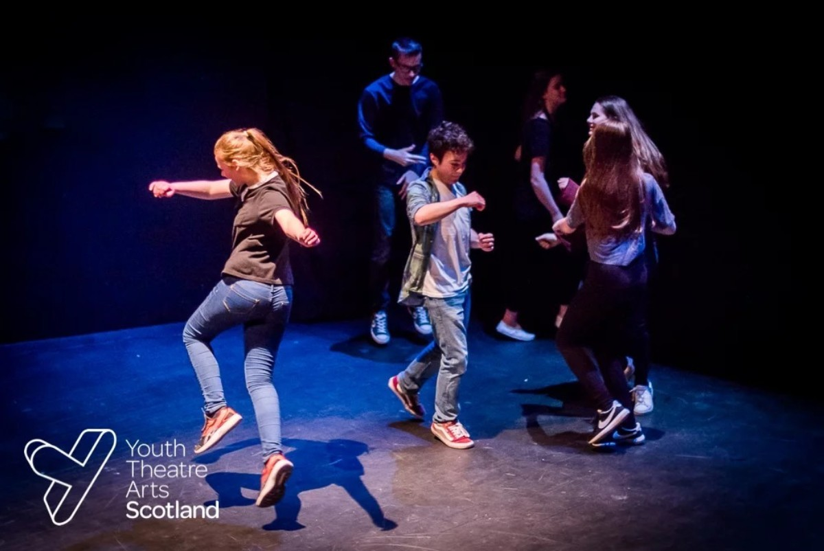 Youth Theatre Arts Scotland supports Rural Youth Project