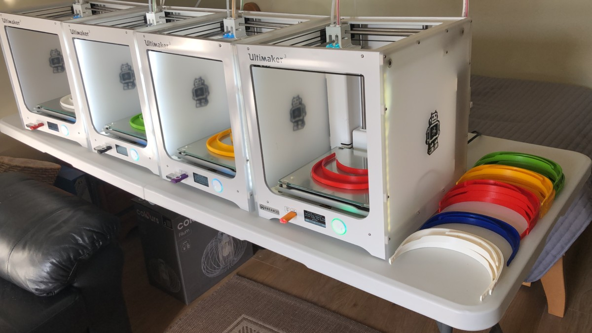 3D PRINTERS TO BE UTILISED IN COVID-19 Response