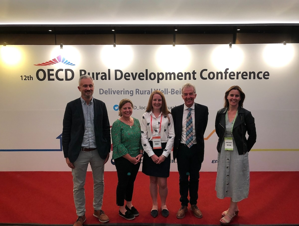 Rural Youth Project speaks at 12th OECD Rural Development Conference in South Korea