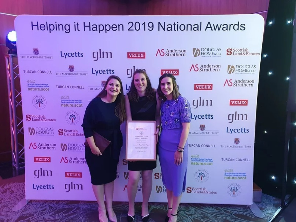 Rural Youth Project Recognised at Helping It Happen Awards