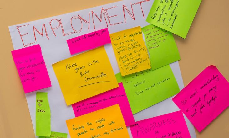 2019 Ideas Festival Biggest Issues Workshop: Employment